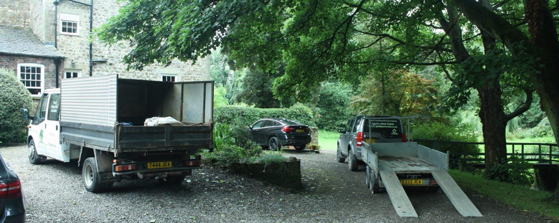 JC Arborists Vehicles